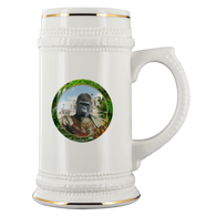 Albert Gorilla Beer Stein - The Green Gypsie