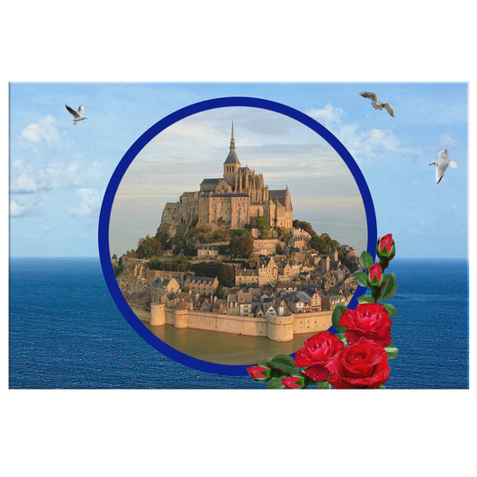 Mont Saint-Michel - The Green Gypsie