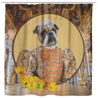 Grace Bulldog Shower Curtain