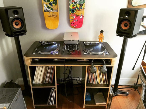 Custom DJ Deck // Custom DJ Table // Custom DJ Setup
