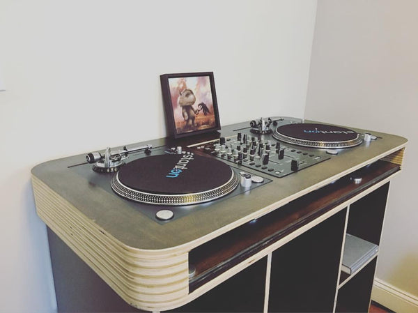 Custom DJ Desk
