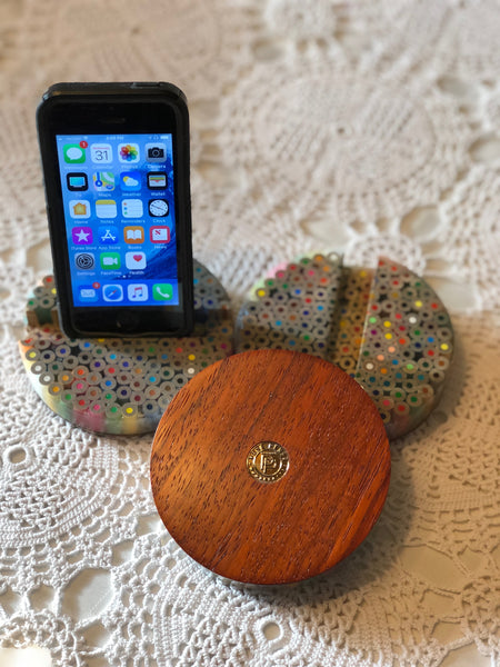Colored Pencil Phone Holder // Phone Stand // iPhone Holder // Tablet Stand