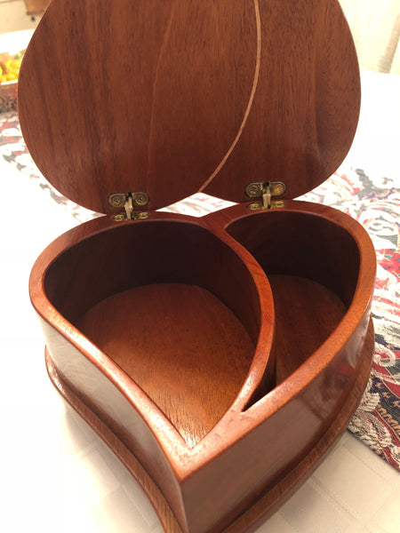 Heart Jewelry Box // Handmade Heart-Shaped Jewelry Box // Bohemian // Handcrafted // Artisan Jewelry Box