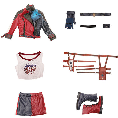 Harley quinn cosplay costume packing list