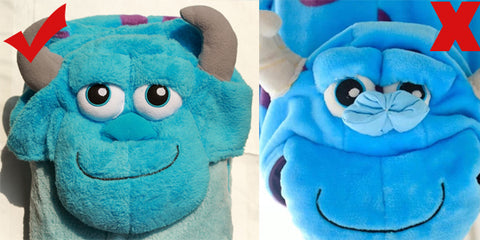 sulley onesie difference