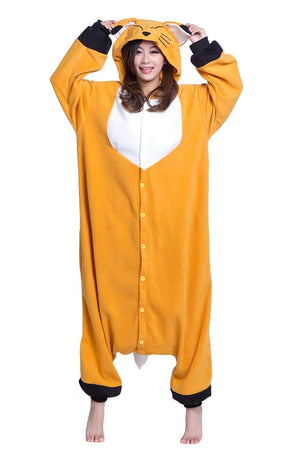 Fox Onesie For Adults and Teenagers