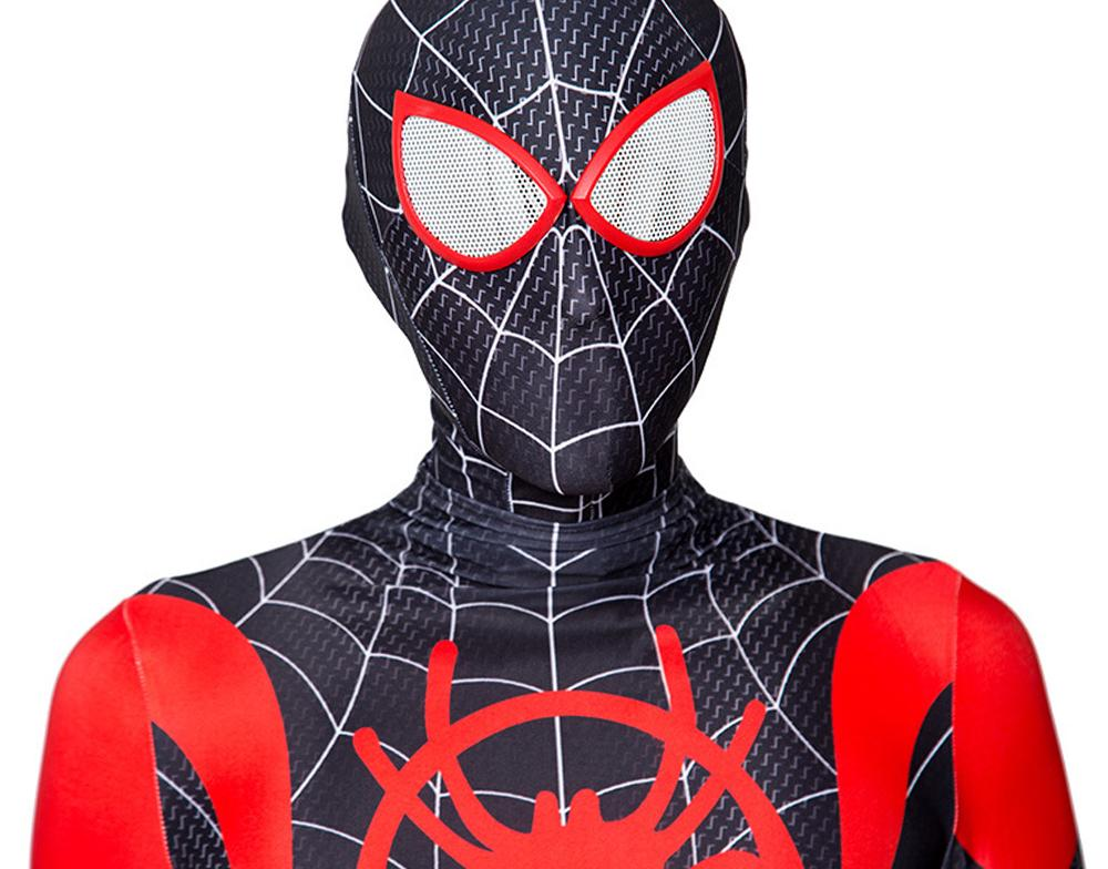 Miles Morales Suit Costume for Boys and Adult Men