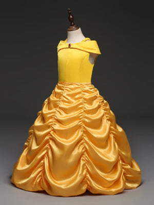 Beauty and Beast Belle Dress For Girls