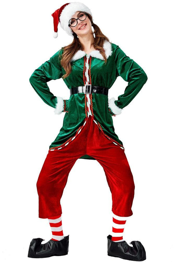 Christmas Elf Costume For Adult