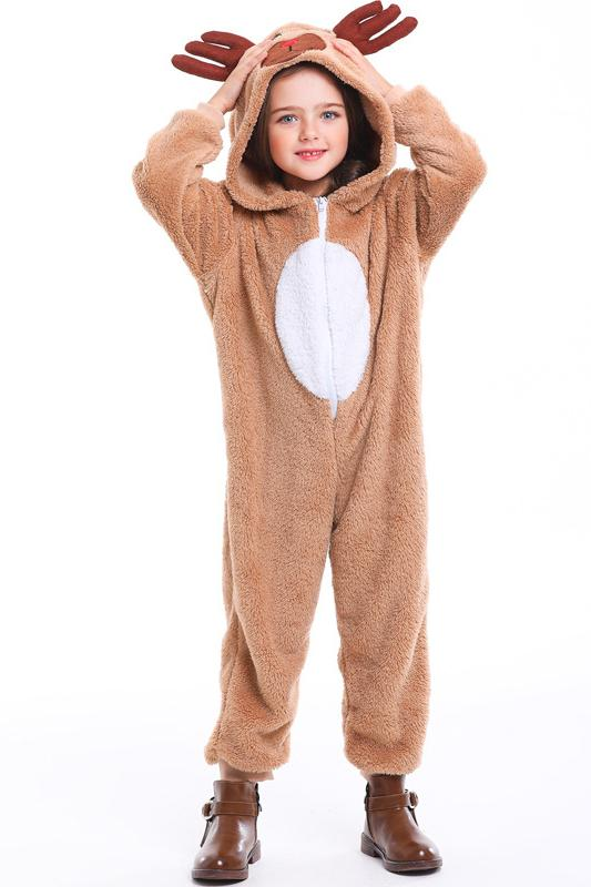 Christmas Reindeer Onesie Costume For Kids
