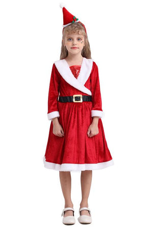 Girls Christmas Dress