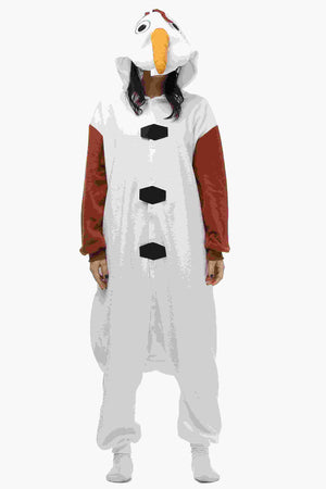 Olaf Onesie Costume for Adult