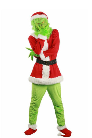 Grinch Costume For Adult Men Christmas Costume