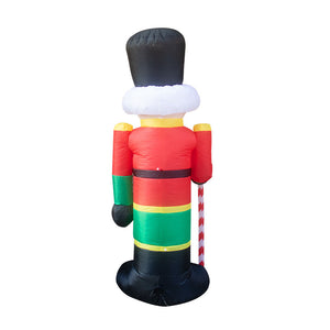 8 ft Giant Christmas Inflatable Nutcracker Blow Up Yard Decoration
