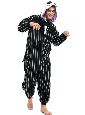 Jack Skellington Onesie Costume For Adults and Teenagers