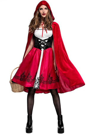 Little Red Riding Hood Costume For Adult