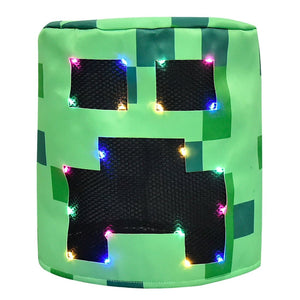 Minecraft Creeper Costume for Kids Boys Halloween