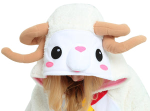 Sheep Onesie For Adults Women Men and Teenagers