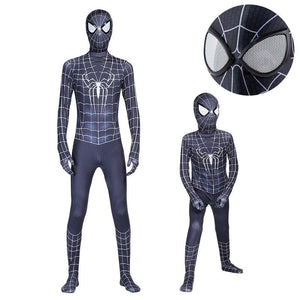 Spider-Man 3 Black Suit Costume for Boys and Men