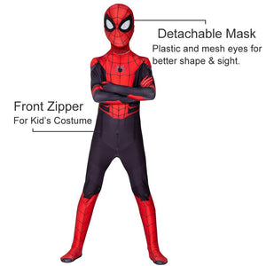 Spider Man Far From Home Costume for Boys and Adult Men