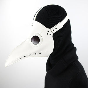 plague doctor mask leather