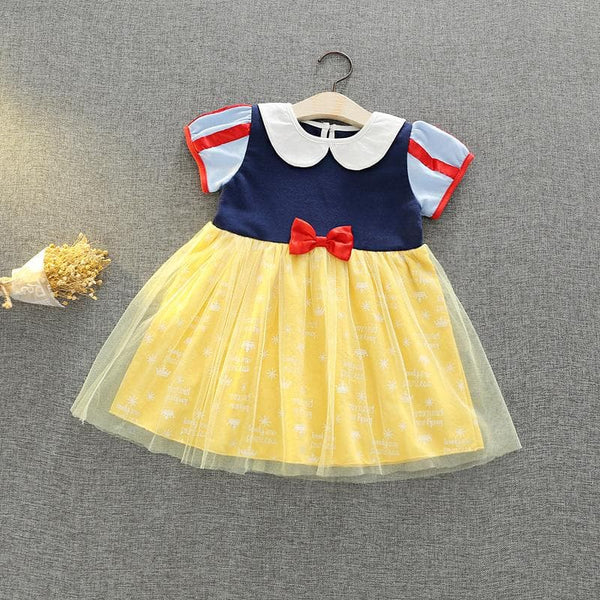 Snow White Princess Dress Costume For Toddlers