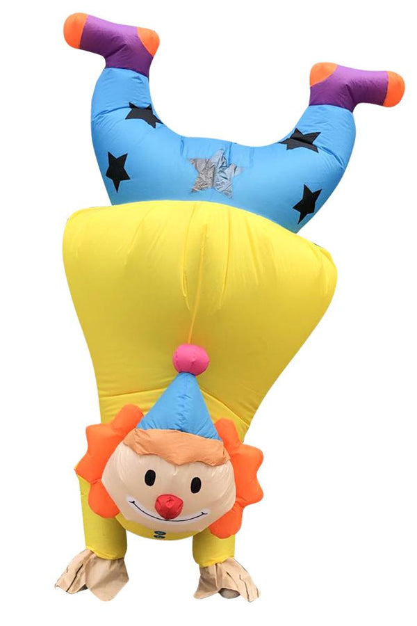 Upside Down Clown Inflatable Costume for Adult