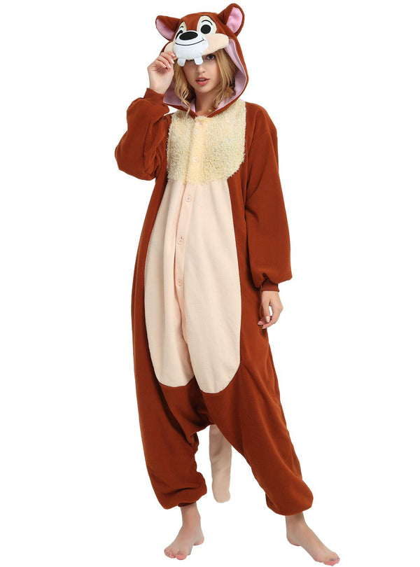 Chipmunk Chip n Dale Onesie For Adults and Teenagers