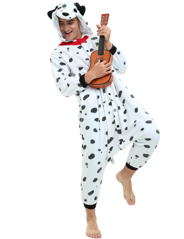 Dalmatian Dog Onesie For Adults and Teenagers