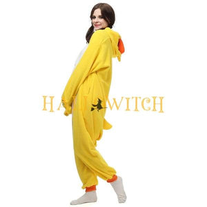 Duck Onesie Costume For Adults And Teenagers Animal