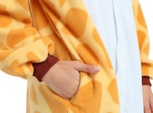 Giraffe Onesie Kigurumi Costume For Adults And Teenagers