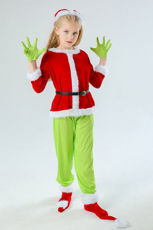 Kid's Grinch Costume For Christmas