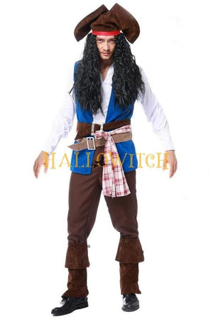 Halloween Pirate Costume For Adult Men Pirates