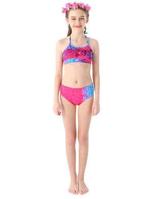Mermaid Tail For Swimming Girls - Rose