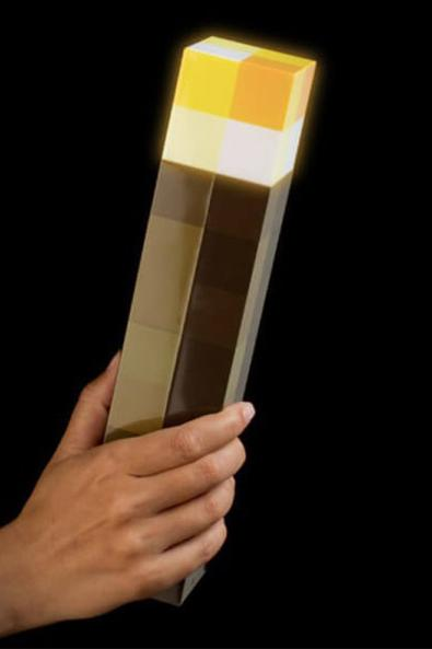 Minecraft Led Light Up Torch Props