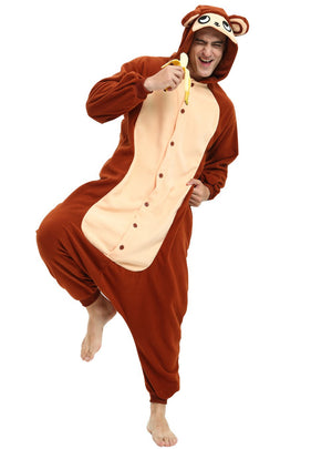 Monkey Onesie For Adults and Teenagers
