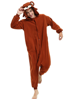 Pedobear Brown Bear Onesie For Adults and Teenagers