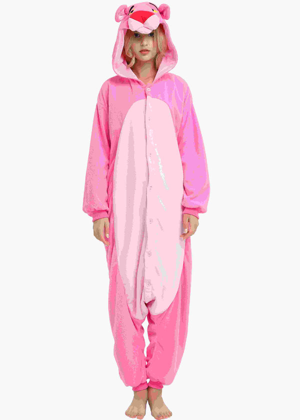 Pink Panther Onesie For Adults and Teenagers