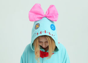 Lilo & Stitch Scrump The Doll Onesie Costume For Adults And Teenagers