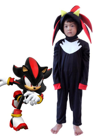 Shadow Sonic the Hedgehog Costume for Kids
