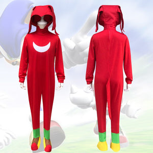 Knuckles the Echidna Costume-Sonic the Hedgehog Movie Costume For Kids