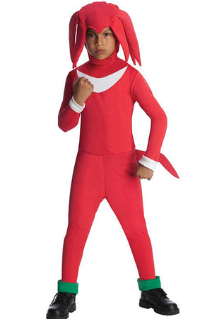 Knuckles the Echidna Costume For Kids-Sonic the Hedgehog