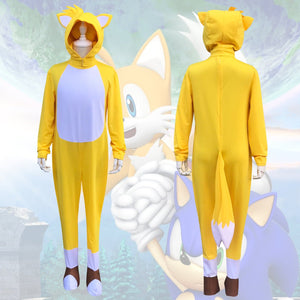 Tails Costume-Sonic the Hedgehog Movie Costume For Girls