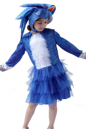 Sonic the Hedgehog Costume for Girls