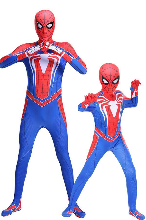 Spider Man PS4 Costume for Boys and Adult Men
