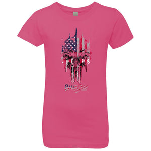 America the Punisher Youth Girls Tee