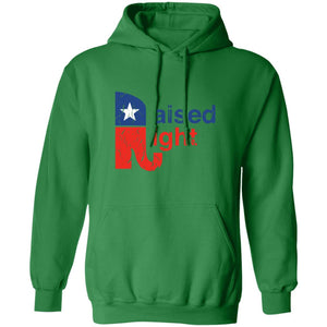 Raised Right Distressed Hoodie