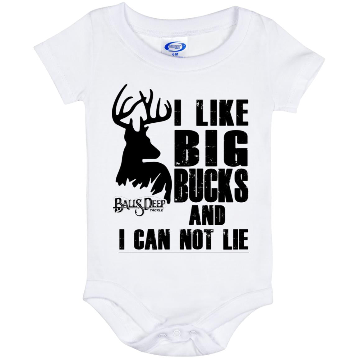 I like Big Bucks Baby Onesie