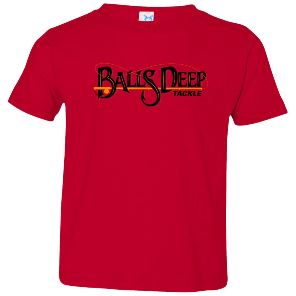 Balls Deep Original (Black) Toddler Tee