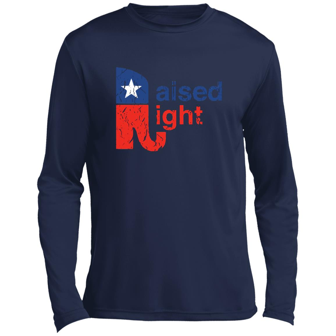 Raised Right Distressed Performance Long Sleeve
